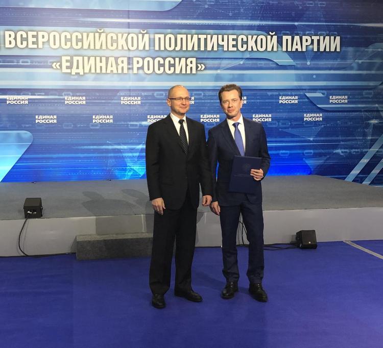 Путин направил благодарность Владимиру Бурматову