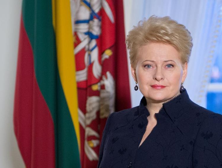 Грибаускайте порадовала  Порошенко: Литва ввела санкции в отношении России