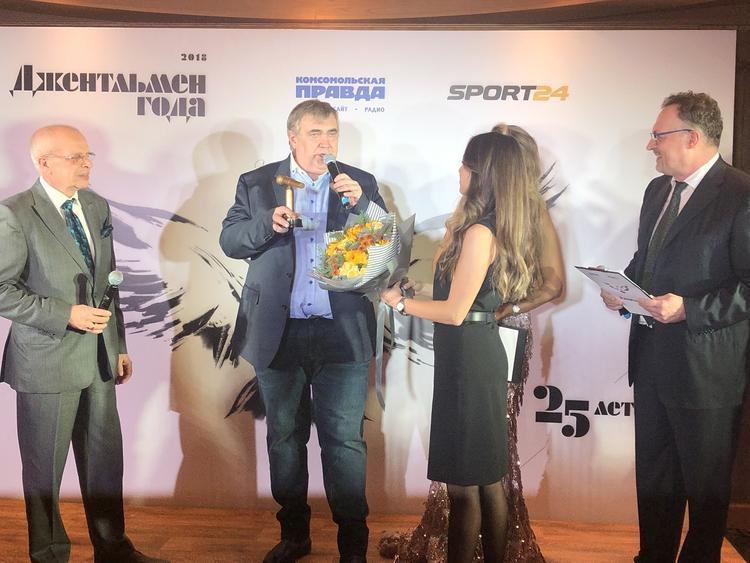Юрий Розанов стал обладателем премии «Золотой микрофон»