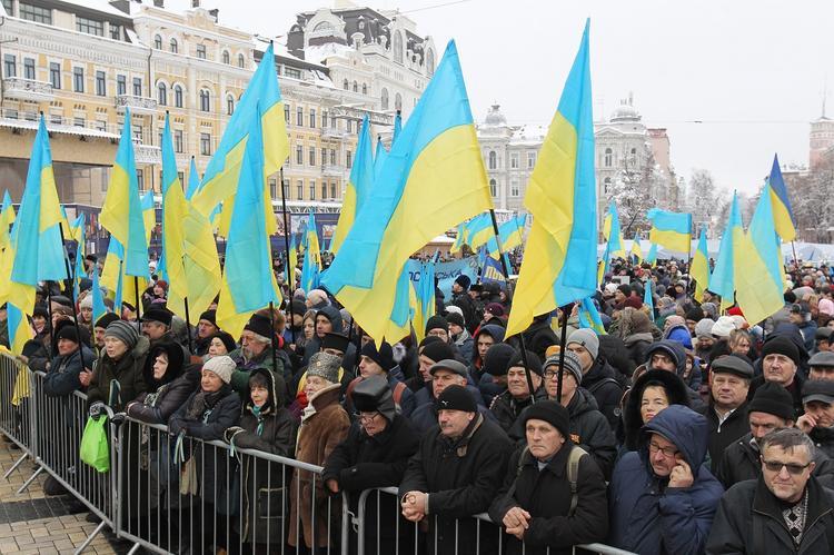 Рассчитан вероятный срок исчезновения с карты мира беднеющей Украины