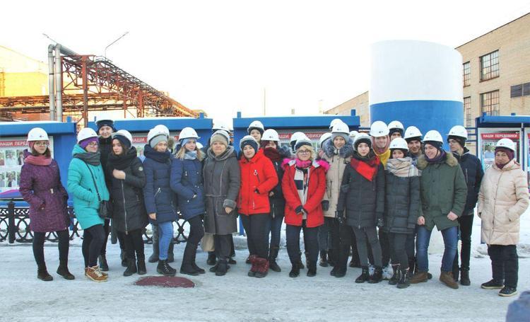 Школьники побывали на экскурсии на заводах РМК