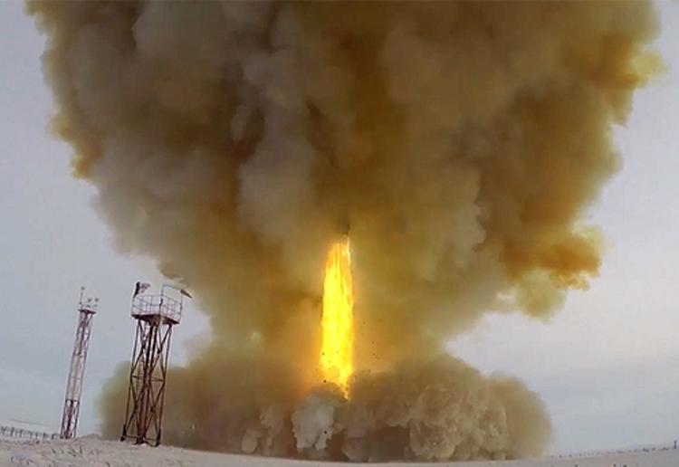 """Скорость ракеты """"Авангард"""" замерили в ходе испытаний"""