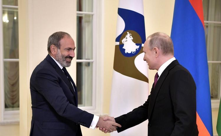 Путин и Пашинян не смогли договориться о цене на газ