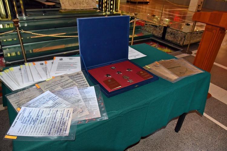 Воинские награды периода Великой Отечественной войны вернули на родину