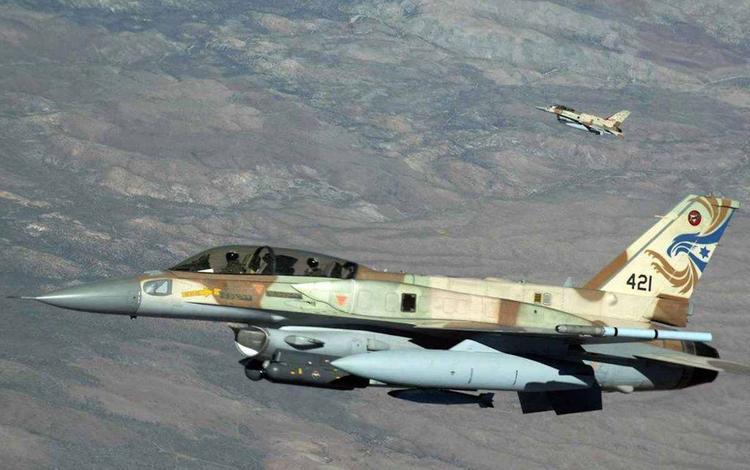Израильские ВВС вновь хозяйничают в небе Сирии