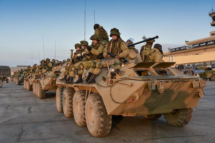 Российский контингент в Сирии примерно 30 тысяч человек