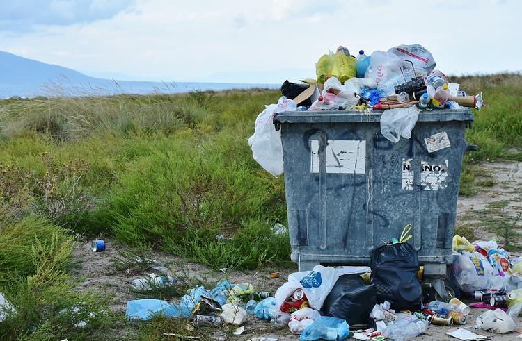 Новый год в России начался с мусорного коллапса