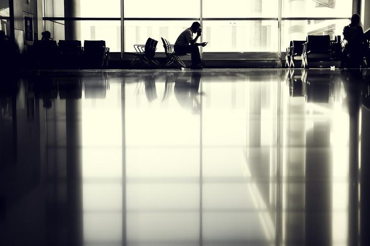 """В аэропорту """"Домодедово"""" пассажиров  30 минут держали в рукаве перед самолётом"""