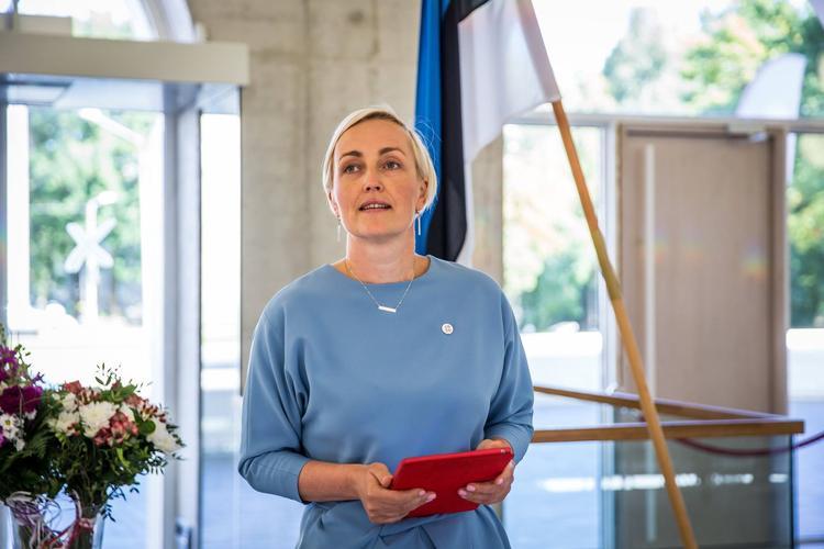 Кристина Каллас объяснила, почему отделила русских от эстонцев