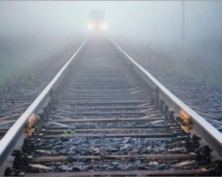 Тепловоз США застрял на украинской железной дороге