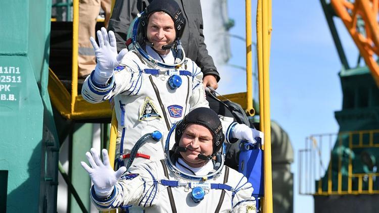 Российский и американский космонавты чудом не погибли в октябре 2018 года