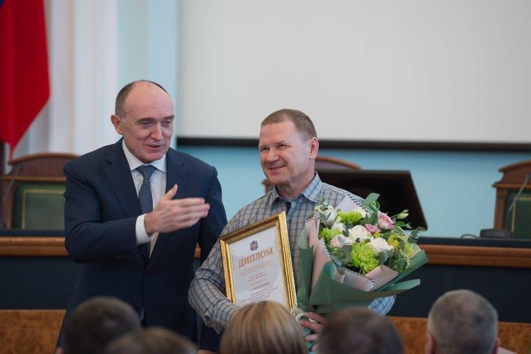Борис Дубровский отметил лучших журналистов Челябинской области