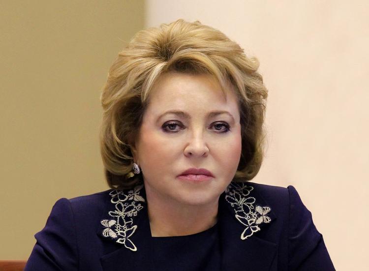 Матвиенко призвала не рассчитывать на ослабление давления на РФ