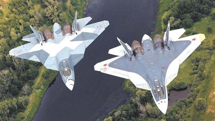 США покрасили свои истребители в камуфляж СУ-57
