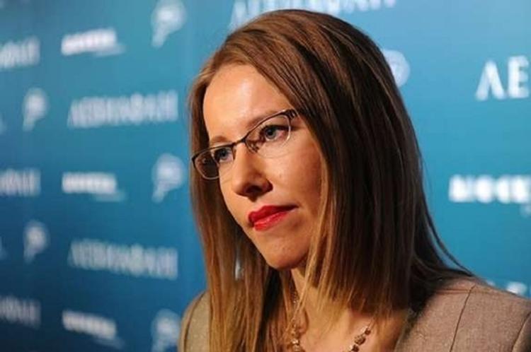 Ксения Собчак раскрыла,  к кому приехала в Киев