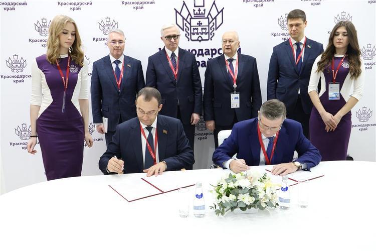 Подписано соглашение между ЗСК и Объединением работодателей Краснодарского края