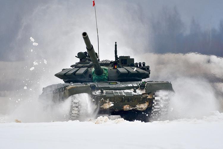 Опубликованы кадры стрельб новейшего танка Т-90МС, предназначенного на экспорт