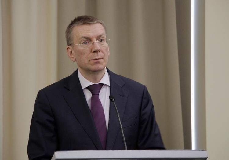 Глава МИД Латвии Эдгарс Ринкевичс: «Мы готовы поддерживать диалог с Россией»