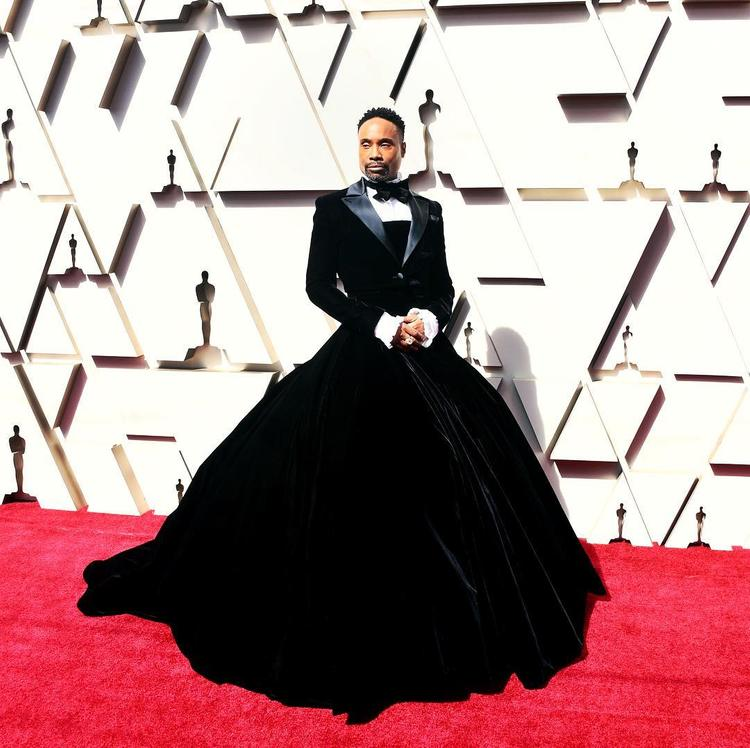 Актёр явился на церемонию вручения «Оскара» в пышном платье