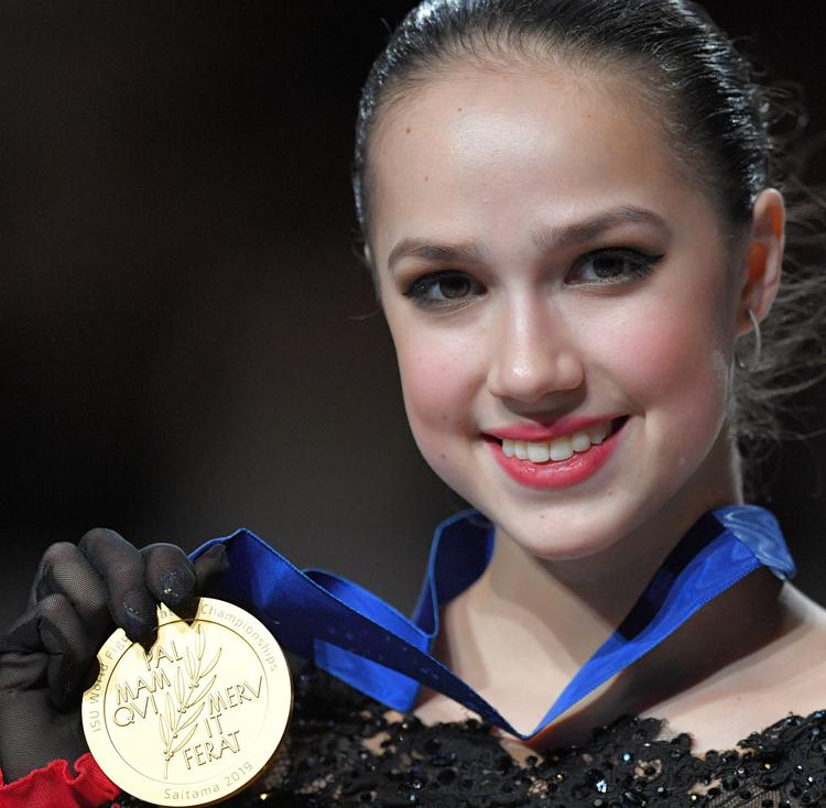 С победой на чемпионате мира Алину Загитову поздравил Владимир Путин
