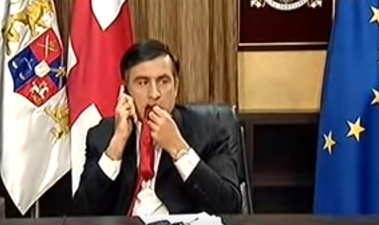 Узнав результаты выборов, Саакашвили передумал возвращаться на Украину