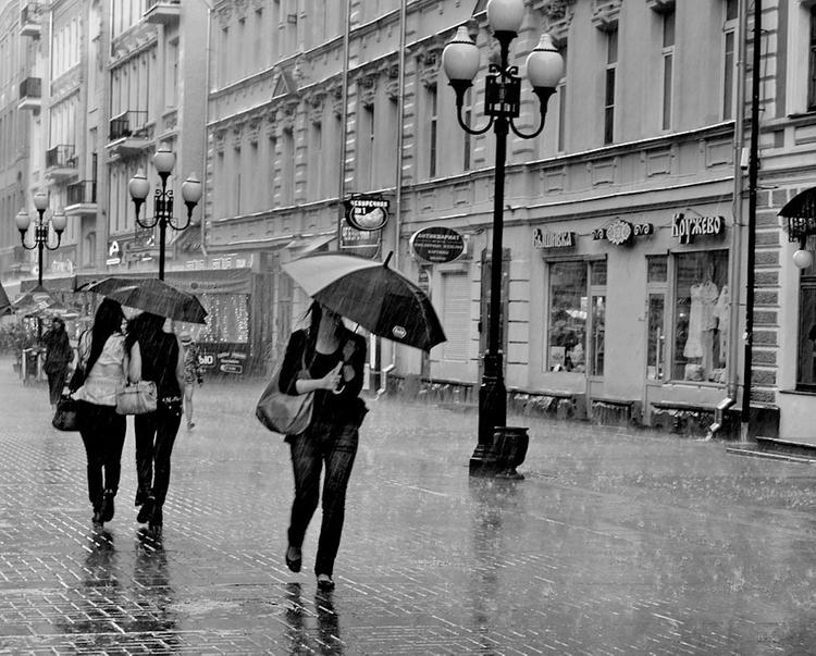 Сегодня на Москву обрушатся дожди