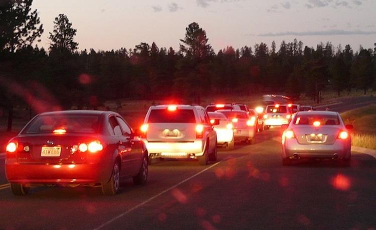 Автомобилистам советуют отказаться от поездок на юго-востоке Москвы