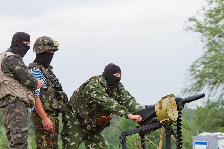 Видео уничтожения ВСУ позиций армии ДНР под Донецком показал украинский офицер