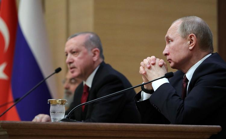 Аналитик прокомментировал встречу Путина и Эрдогана