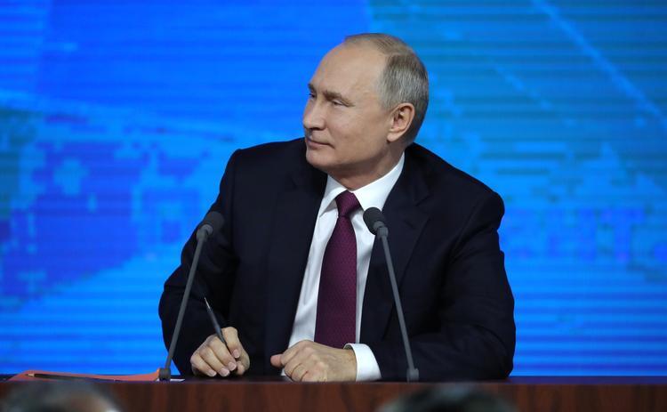 Путин сообщил, что Россию устраивают цены на нефть