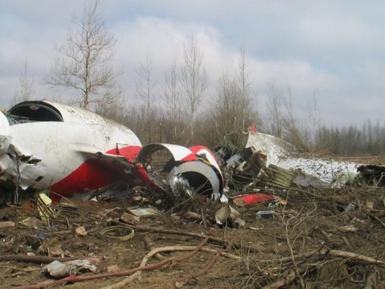 СКР прокомментировал сообщения Польши об обнаружении  взрывчатки на обломках Ту-154 президента Качиньского