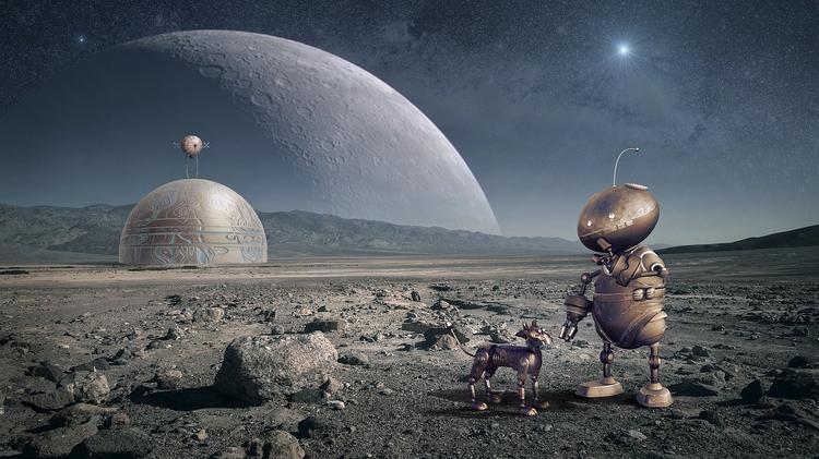 Израильский космический аппарат потерпел крушение при посадке на Луну