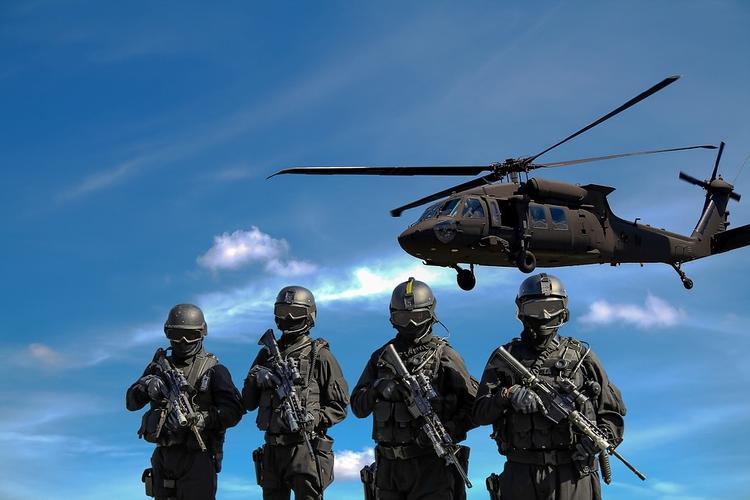 Великобритания перебросила к российской границе военные вертолёты и солдат