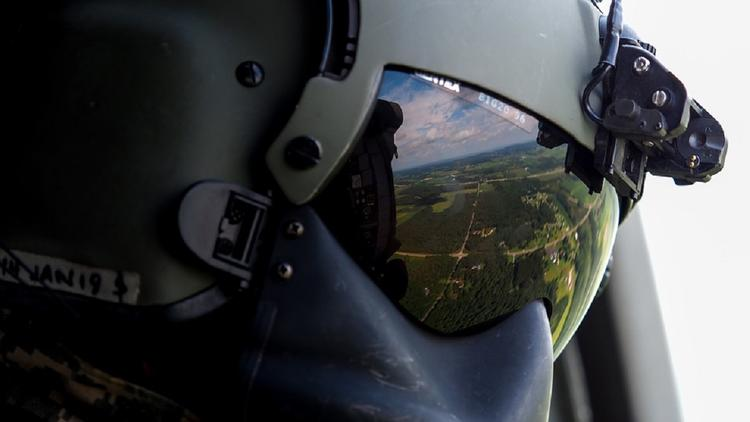 В Испании НЛО был атакован военным вертолетом