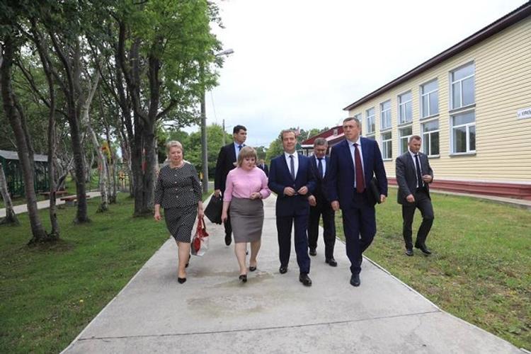 В регионе побывал Дмитрий Медведев