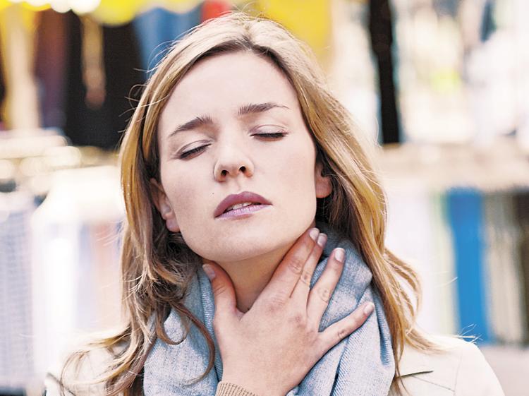Проблема в желудке, а болит горло