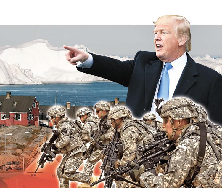 Пошлёт ли Трамп в Гренландию своих «зелёных человечков»?