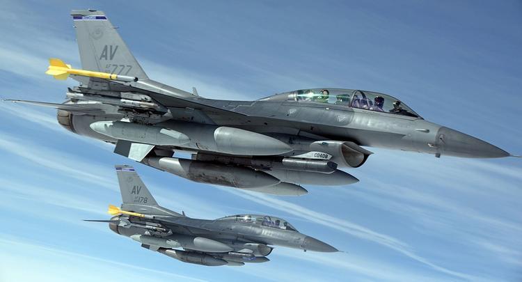 США продает Тайваню «болванки» истребителей F-16 по 120 миллионов долларов