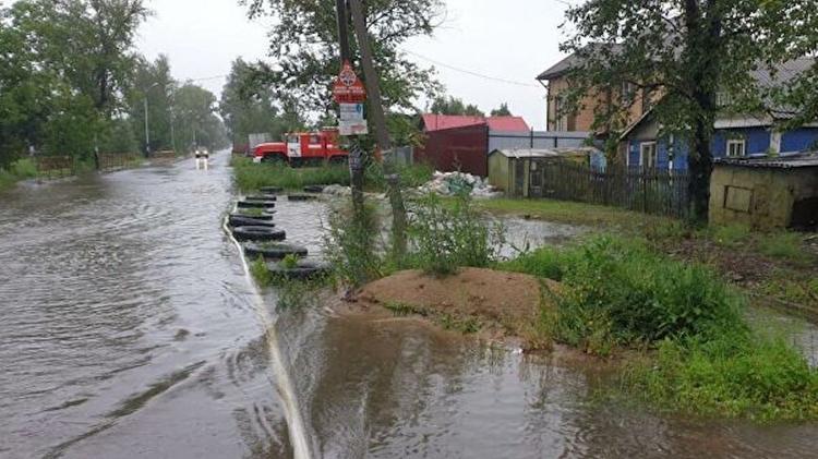 Почти две сотни домов в Хабаровском крае затоплены паводком