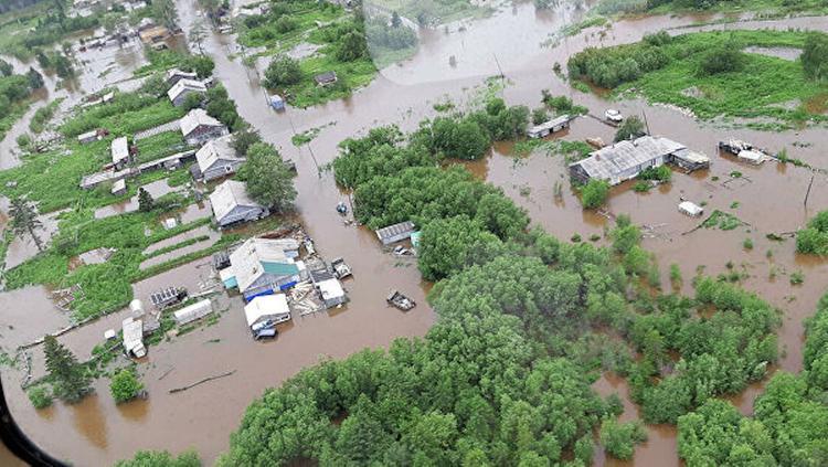 В Хабаровском крае более 200 домов подтоплены паводком
