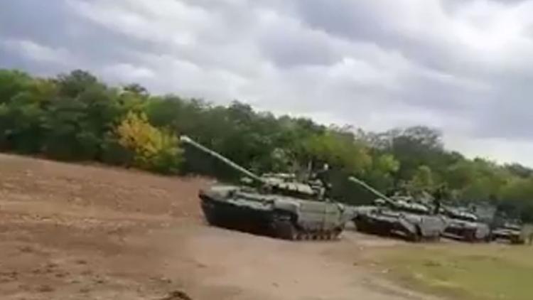 Колонна российской военной техники напугала украинцев