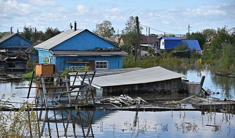 В зонах подтопления в Хабаровском крае запретят строительство жилья