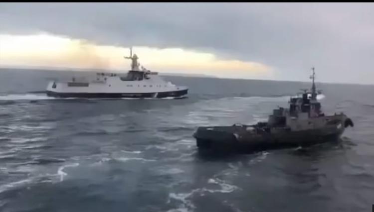 У Зеленского изъяли документы о провокации в Керченском проливе
