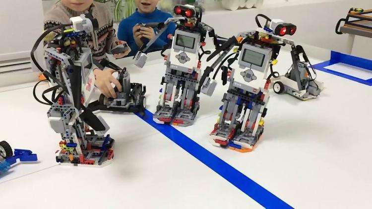 Хабаровские роботы-гуманоиды сильнее корейских
