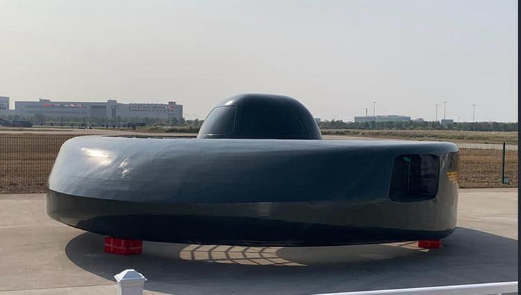 Китайцы показали боевое НЛО
