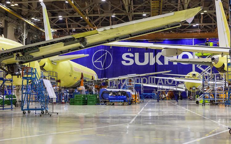 Только один «Суперджет» смогли продать в 2019 году комсомольские авиастроители