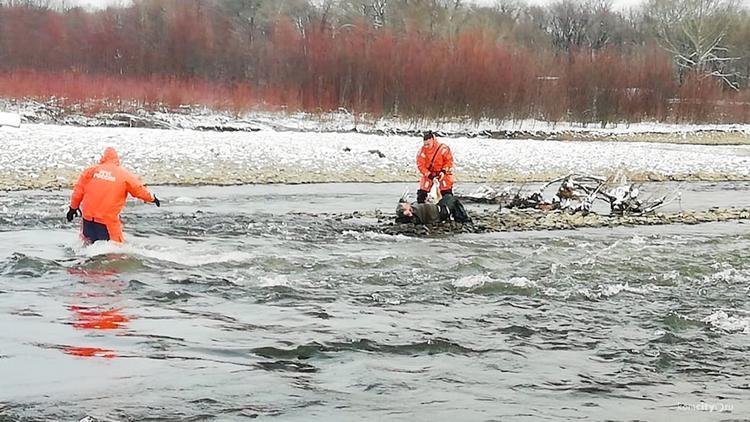 Умирающего от холода на острове спасли в Комсомольске-на-Амуре