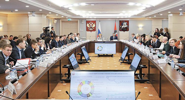 Проект бюджета Москвы
