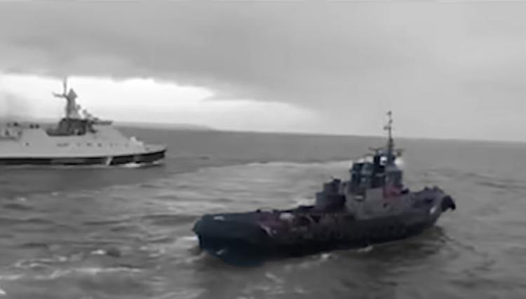Россия починит украинские корабли, участвовавшие в «керченской провокации»