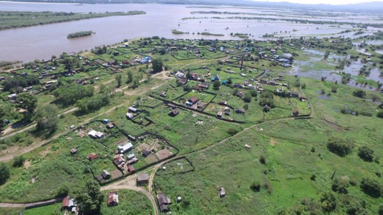 Хабаровским дачникам начнут выплачивать компенсацию за погибший в паводке урожай